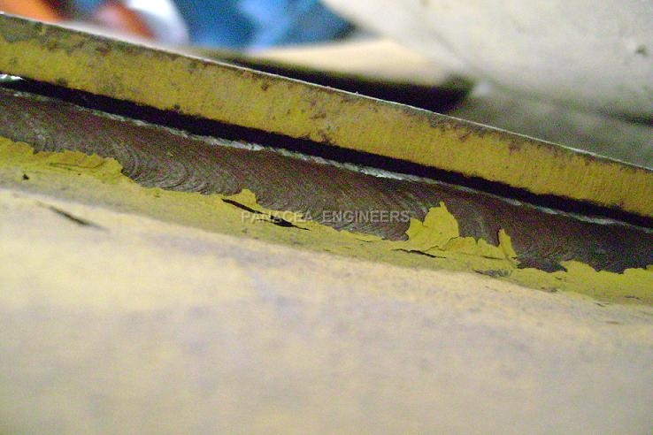 Girder Welding Failure